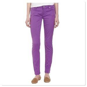 7 for all Mankind Purple Orchid Gwenevere Jeans 25